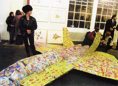 Al Hansen Lisa Cieslik Andy Warhol Attentat Sound Performance